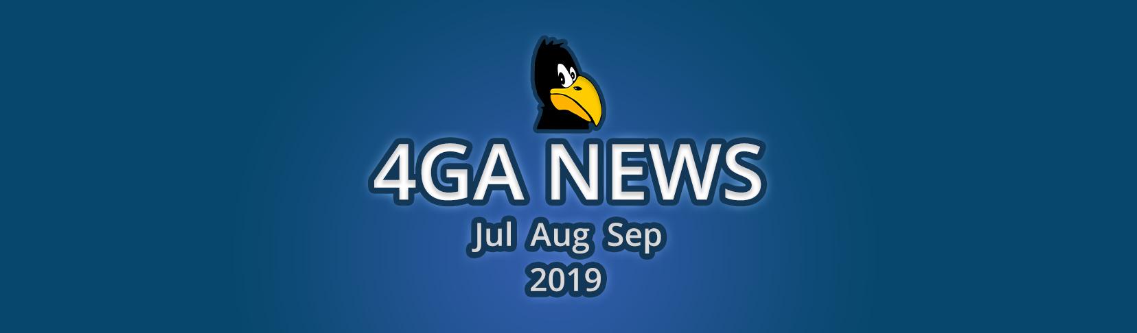4ga News Jul Aug Sep 2019