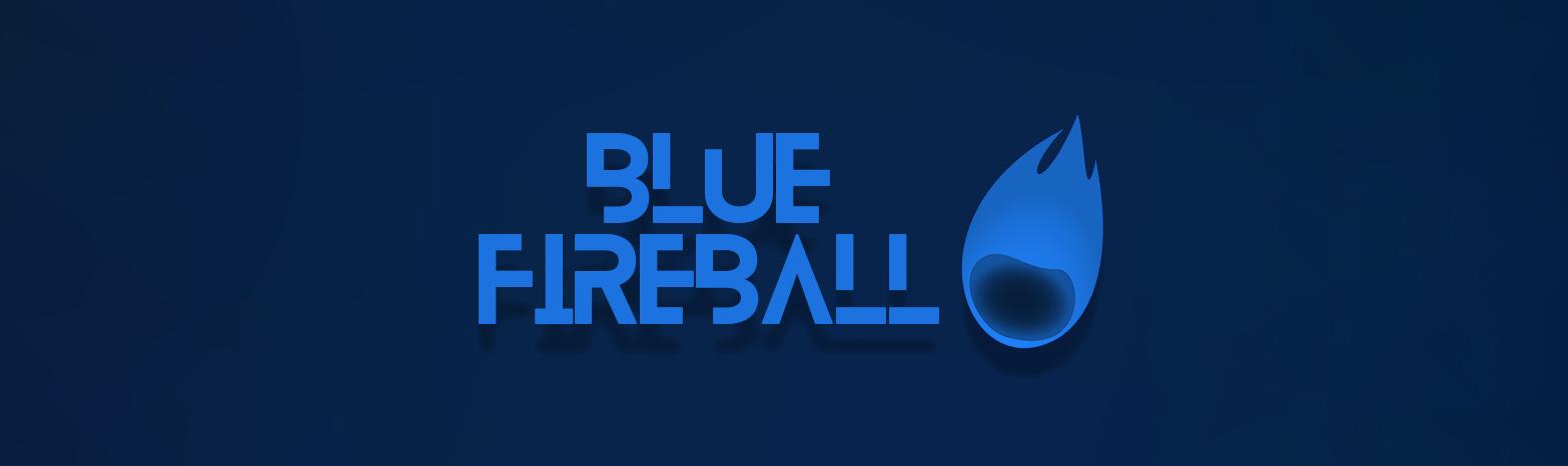 Rocketman Blue Fireball