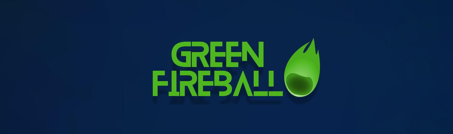 Rocketman Green Fireball