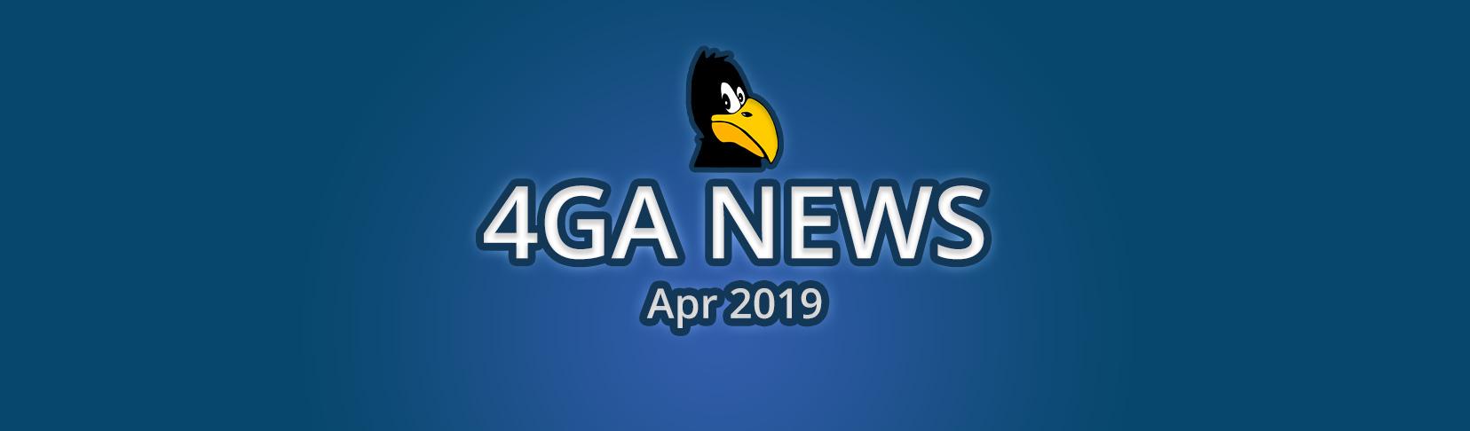 4ga News Apr19