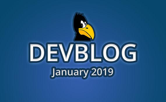 Devblog January 2019